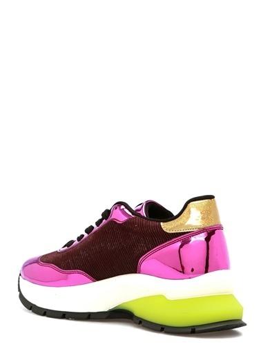 Que Sneakers Fuşya